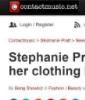 Stephanie Pratt Press 2017 release