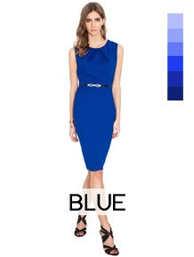 shop by color wholesale blue-dresses