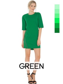 shop by color wholesale green-dresses